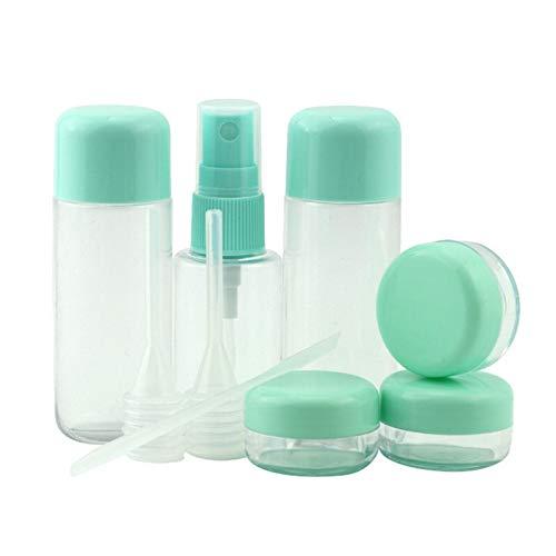 Botellas del aerosol de viaje 8PCS / set Mini plástico transparente pequeña botella del...