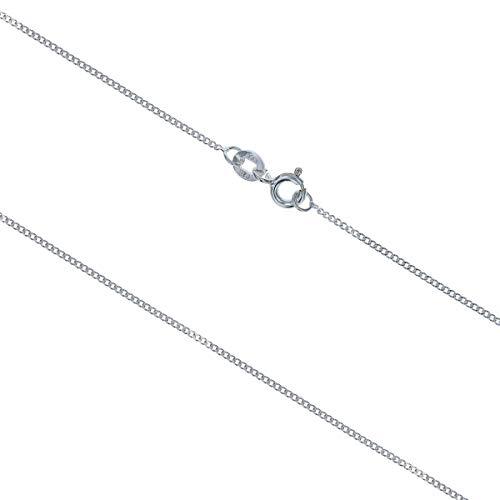 cl4075–The Olivia Collection in argento Sterling catena 45–46cm di lunghezza e 1,4G Slim