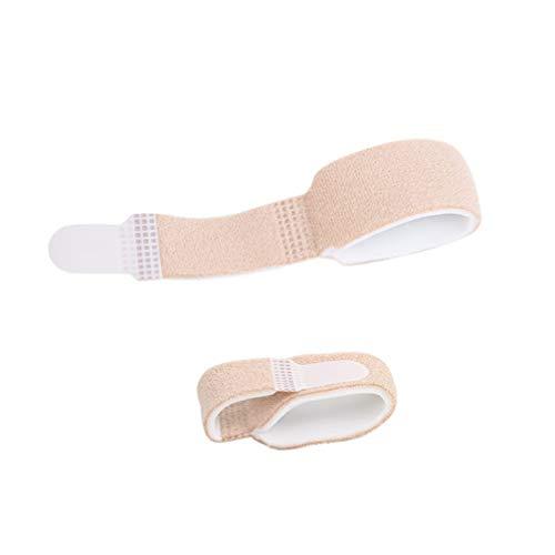 Healifty 6pcs Finger Brace Splint Unterstützung für gebrochene verletzte Finger Hammer Toe