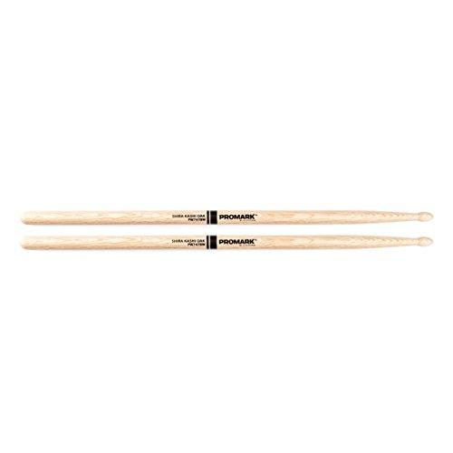 "Promark Shira Kashi Oak 747B ""Super Rock"" Wood Tip drumstick"