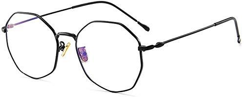Unisex superlicht gepolariseerde zonnebrillen, The Big Blue glazen frame metalen vlak glas frame was mannen en vrouwen Lue Shading glazen, anti-glans vermoeidheid, hoofdpijn, vermoeidheid van de ogen, Co