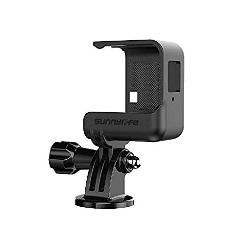 Yifant Half-Frame Cage for Insta360 One R Action Camera Accessories Quick Release Mount Shockproof Anti-Slip Housing Bracket