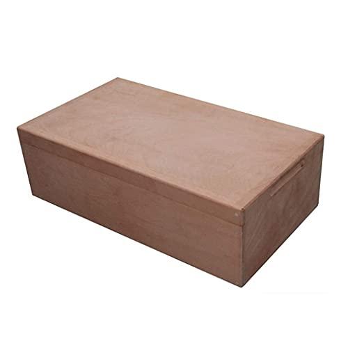 QULONG Caja de Cigarrillos Caja de Humedad de Madera de Cedro importada 120 Palos Estante de partición de Alta Gama Engrosado de Alta Capacidad Cocina y Comedor