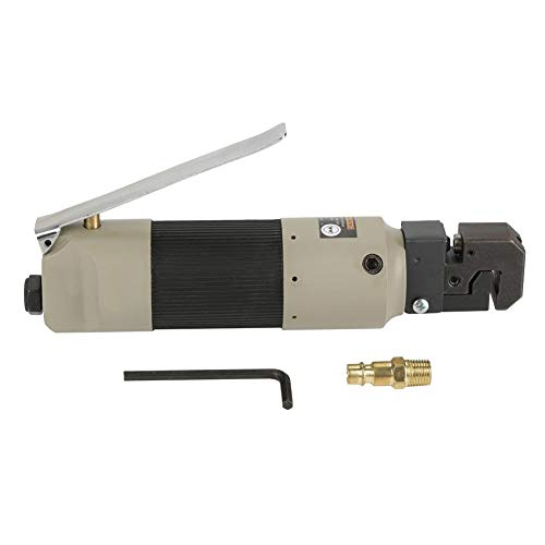 Flange Punch Tool, Pneumatic Air Body Panel Flanger/Punch Tool with 1/4NPT-18 Air Inlet US PLUG