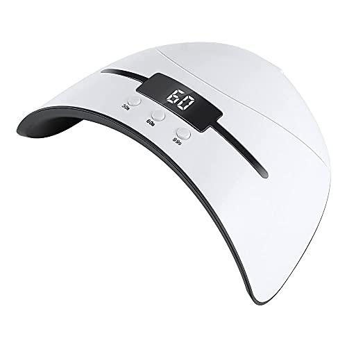 36 W lámpara UV, cuidado de uñas portátil 36 W lámpara UV LED para lámpara UV 36 W 12 LED para uñas secador de uñas 12 unids lámpara de uñas LED para curar