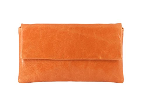 Fina Formato compacta de auténtica Piel Clutch Bag/Boda/Oportunidad Hombro Bolsa