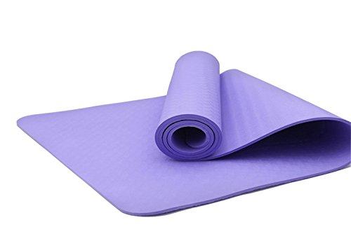 best yoga mat for 2021 SOSITE TPE Yoga Mat 10mm Extra Thick Non-Slip Anti-Tear Soft No Smell Exercise Fitness Matt