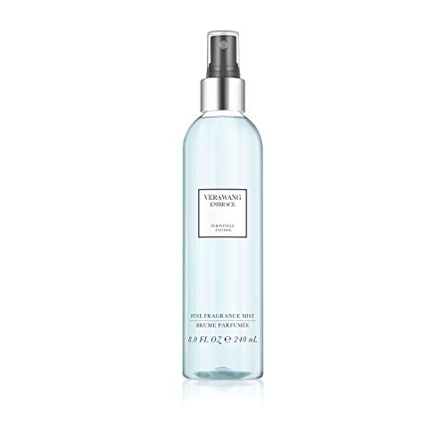 Vera Wang Embrace Body Mist for Women Periwinkle and Iris Scent, 8 Ounce Body Mist Spray Passionate Floral and Sparkling Fragrance