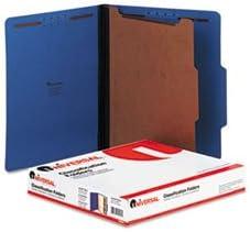6 Pack Value Bundle Ranking TOP4 depot UNV10201 Pressboard Classification Folders