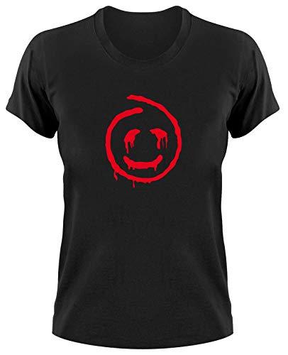 The Mentalist Fanshirt Ladies T-Shirt, Red John, schwarz, L
