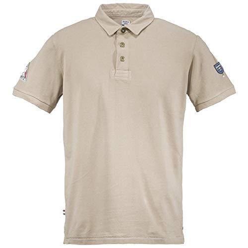 Dolomite Poloshirt Herren 1954 Karakorum Cord Beige L