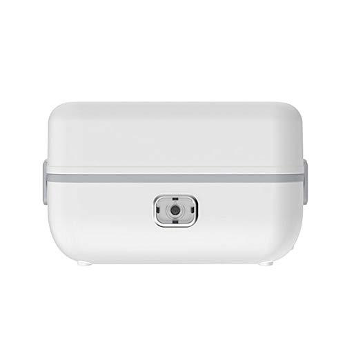 CHAN Edelstahl Elektrische Lunchbox Thermal Heizung Dampfgarer Kochen Container Portable Office Mini Reiskocher 220 V 1 L