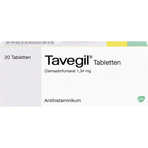 Tavegil Tabletten Antihistaminikum, 20 St. Tabletten