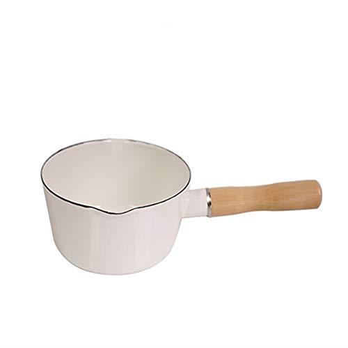 LSS EIN Topf, der unter einem offenen Feuer beheizt Werden kann, EIN multifunktionaler, hochqualitativer Milchkaffee-Heiztopf, der für Gasherde und elektrische Keramiköfen geeignet ist