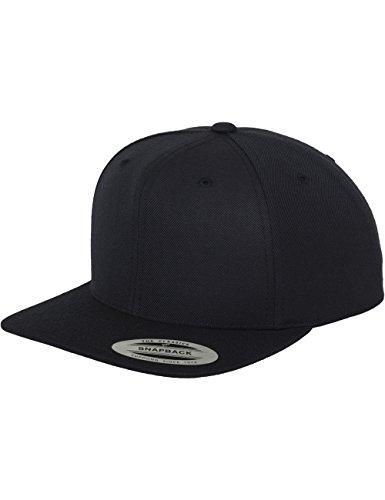 Flexfit Classic Snapback Cap, Mütze Unisex Kappe für Damen und Herren, One Size, Farbe dark navy