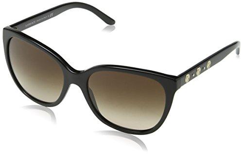 Versace 0Ve4281 Gafas de sol, Black, 57 para Mujer