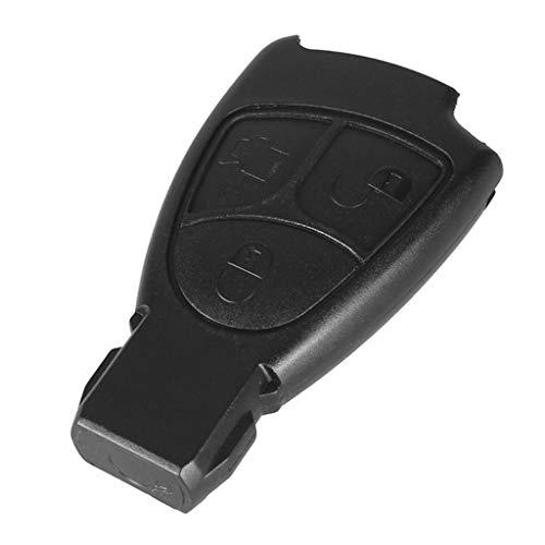 COLUDOR 3 Tasten Ersatz Fernbedienung Schlüsselgehäuse für Mercedes Benz C Klasse Alarmanlage Autoschlüssel Gehäuse