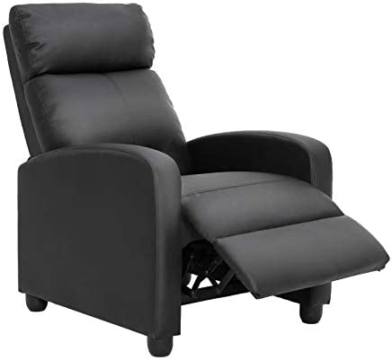 Top 10 Best massage leisure recliner chair swivel real leather armchair w ottoman Reviews