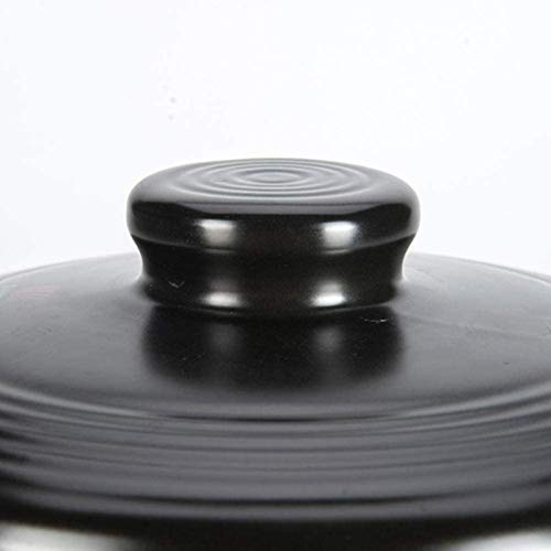 Ollas de Hierro Utensilios de Cocina Terracotta Clay Casserole Pot Clay Pot Caja de cocción-Antideslizante y Estable Secado rápido Suministro Conveniente (Size : 2L)