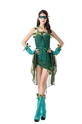 Aida Bz Halloween kostuum groene elf kostuum bos boom demonen godin kostuum