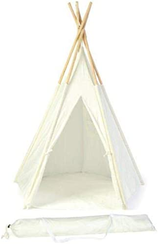 1.5m New Zealand Pine Teepee With Carry Case - By Trademark Innovations