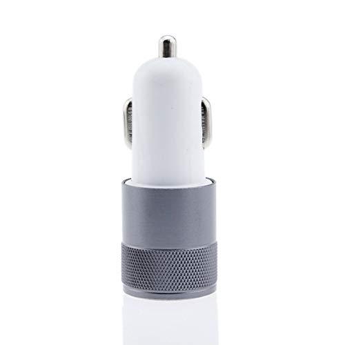 Ba30DEllylelly Mini caricatore da auto USB a 2 porte 2.1A Adattatore di ricarica per telefono cellulare con doppia doppia USB universale per telefono