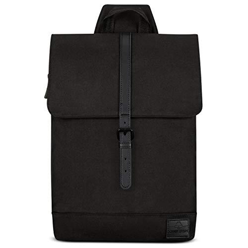 Sling Bag Damen Klein Schwarz - JOHNNY URBAN Amy Moderne Schultertasche aus Recycelten PET-Flaschen - Freizeit Rucksack Umhängetasche für Frauen - One Shoulder Crossbody Tasche, Wasserabweisend