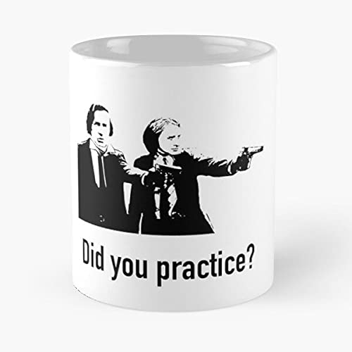 Chopin & Liszt Did You Practice? The Best White Marble Ceramic Coffee Mug 11 Oz !