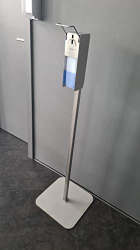 Komplettset!!! LAMONT Profi - Desinfektionsspender + Ständer. Edelstahlsäule 10KG inkl. Spender ! MADE IN GERMANY für die Händedesinfektion