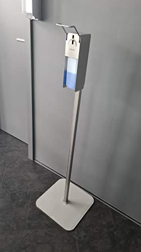 Komplettset!!! LAMONT Profi - Desinfektionsspender + Ständer. Edelstahlsäule 10KG inkl. Spender ! MADE IN GERMANY für die Händedesinfektion Seifenspender Eurospender