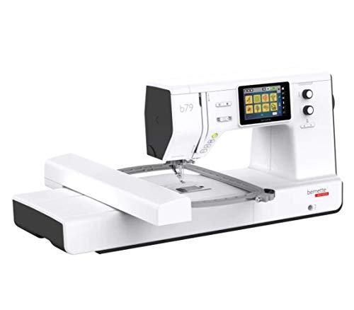 Bernette B79 - Máquina de coser y bordar (incluye 2 módulos de software de bordado, para obtener resultados óptimos de costura y bordado y una gran comodidad de costura.