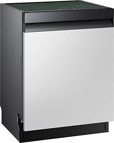 Samsung DW7500 DW60R7050SG/EG Teilintegrierter Einbau-Geschirrspüler/Breite 59,80 cm / 14 Maßgedecke/A+++ / Automatische Türöffnung/Leise-Funktion/Hygiene-Funktion/Premium Black