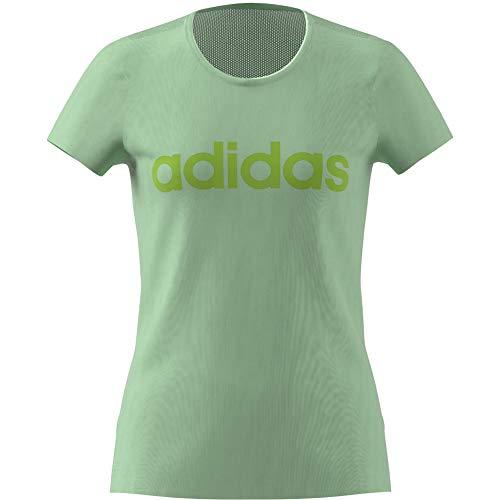 adidas Yg C Tee T-Shirt für Mädchen XXL Gelb/Grün (menglo/Versen)
