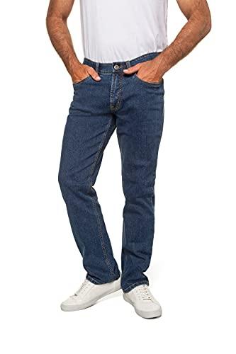 Jeans, Denim-Hose im 5-Pocket-Style, Stretch-Komfort, elastischer Bund & Regular Fit Blue Stone 58 708067 91-58