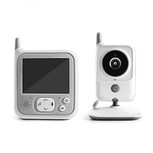 """Baby Monitor,3.2"""" Large Display Video Baby Monitor with Camera and Audio,Built-in 8 Lullabies,Humidity Alerts,2-Way Audio Talk,Infrared Night Vision,with Best-in-Class Long Range"""
