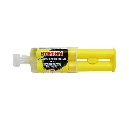 Arexons Epoxy-lijm, ultra-resistent, vloeibaar, transparant (spuit 25 ml)