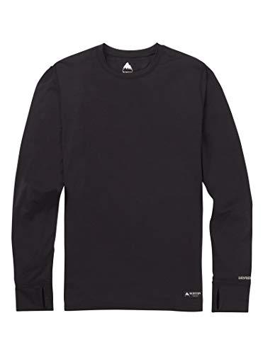 Burton Lightweight Crew Camiseta Térmica, Hombre, Negro (True), L
