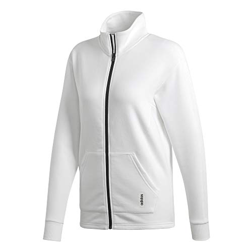 adidas W BB TT Jacke, Damen XS weiß