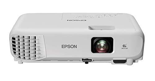 """Epson EB-E01 Videoproiettore Tecnologia 3LCD, XGA, 1024 x 768, 4:3, Contrasto 15000:1, 3300 Lumen, HDMI, WiFi, Proiezione fino a 350"""", VGA HDMI, Altoparlante, Telecomando"""