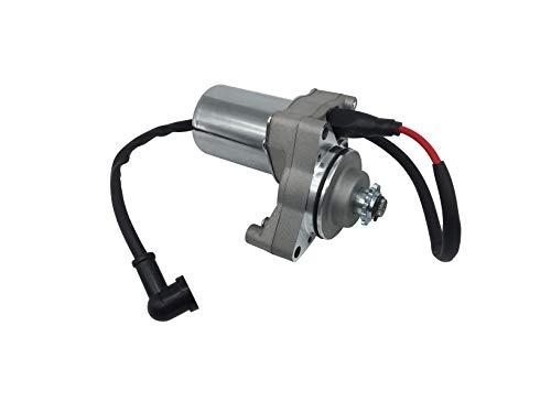 shamofeng 3 bolt Starter Motor WIth Line for 50cc 70 cc 90cc 100 cc 110cc 125 cc Dirt Bikes Go Karts ATVs Pit Bike Dune Buggy Sandrail Quad 4 Wheelers SSR Roketa Taotao Coolster Jonway SunL