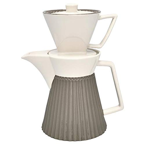 GreenGate- Coffe Pot with Filter - Alice warm Grey