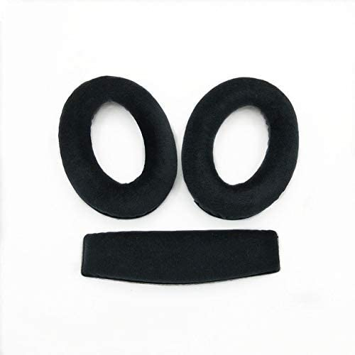 high quality Ear outlet sale Pads Headband Replacement Bumper Cushion Cover Earpads Compatible with Sennheiser HD599 wholesale HD598 HD598SE Headphones (Black) sale
