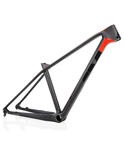 T1000 BB46 Cuadro De Bicicleta De Fibra De Carbono Mountain Ultraligero 27.5ER 15.5 / 17.5 'Cuadro De Bicicleta De Carretera De Carbono Cuadro De Bicicleta De Carreras De Fibra De Carbono 12X142mm