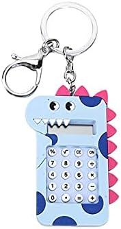 Desktop Calculator Basic Office Calculators Mini Calculator Cartoon Dinosaur Keychain Bag Decoration Pendant Car Key Ring Women Men Students Jewelry Gift Kids Toys Scientific Calculator