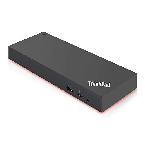 Save %44 Now! Lenovo ThinkPad Thunderbolt 3 Workstation Dock 170W US (40AN0170US), Black