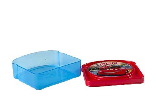 ALMACENESADAN 9954, Value Disney Cars Sandwichmaker, Kunststoffprodukt. BPA frei.