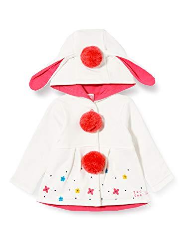 Tuc Tuc Chaqueta Felpa Hoop, Blanco, 6M para Bebés