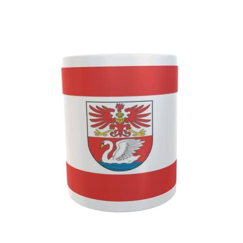 U24 Tasse Kaffeebecher Mug Cup Flagge Prenzlau