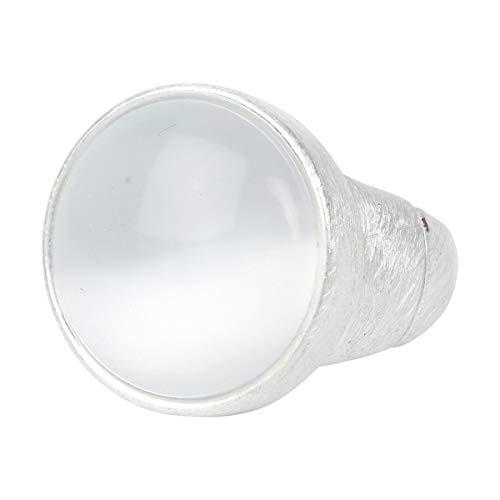 The Moshi Fingerring Assini Cateye Silver White