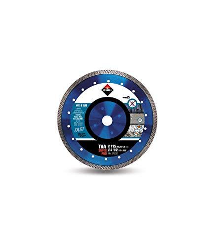 Rubi 31932 Disco Diamante Material Duro, Plateado, 115 mm